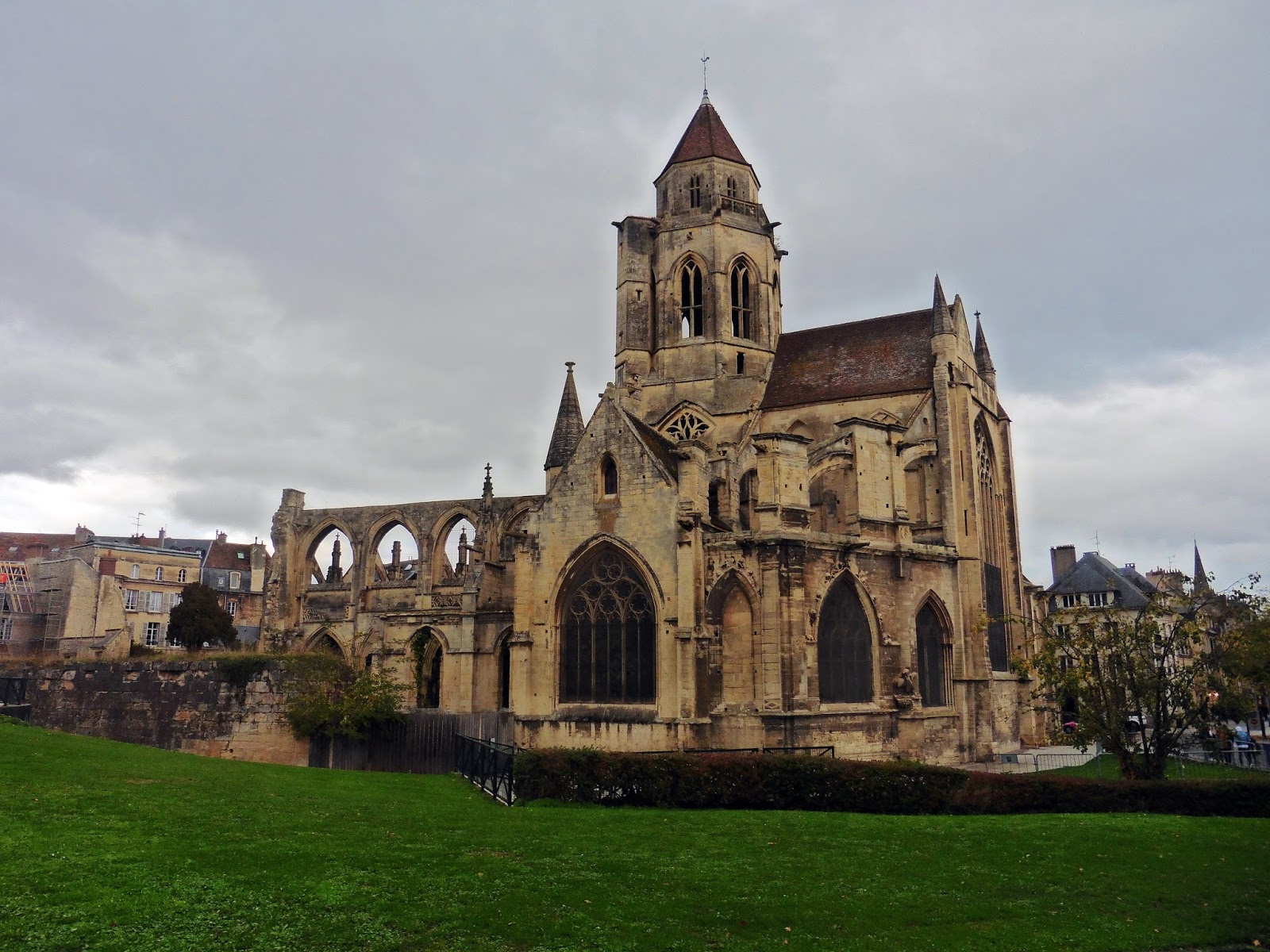 Saint Etienne-le-Vieux in Caen, France
