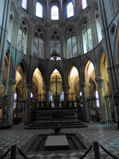William the Conqueror's Tomb in Caen, France