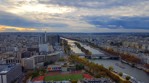 View of the Seine from the Eiffel Tower