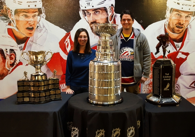 Stanley Cup at Joe Louis Arena