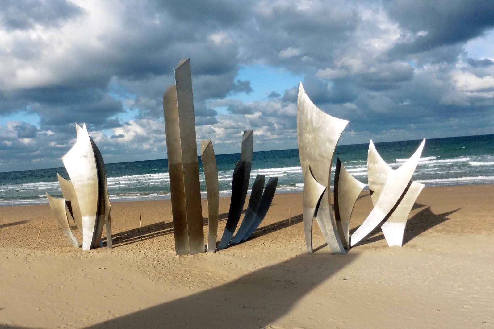 Memorial at Omaha Beach