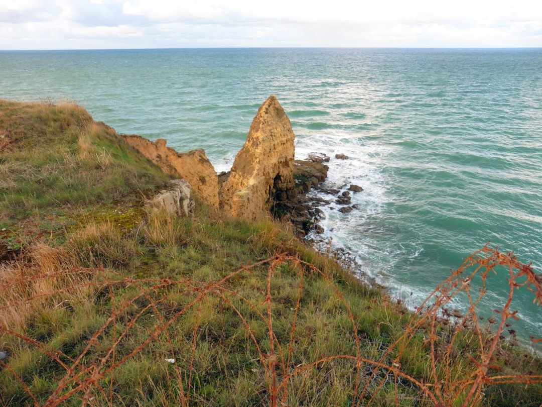 Pointe du Hoc in Normandy, France