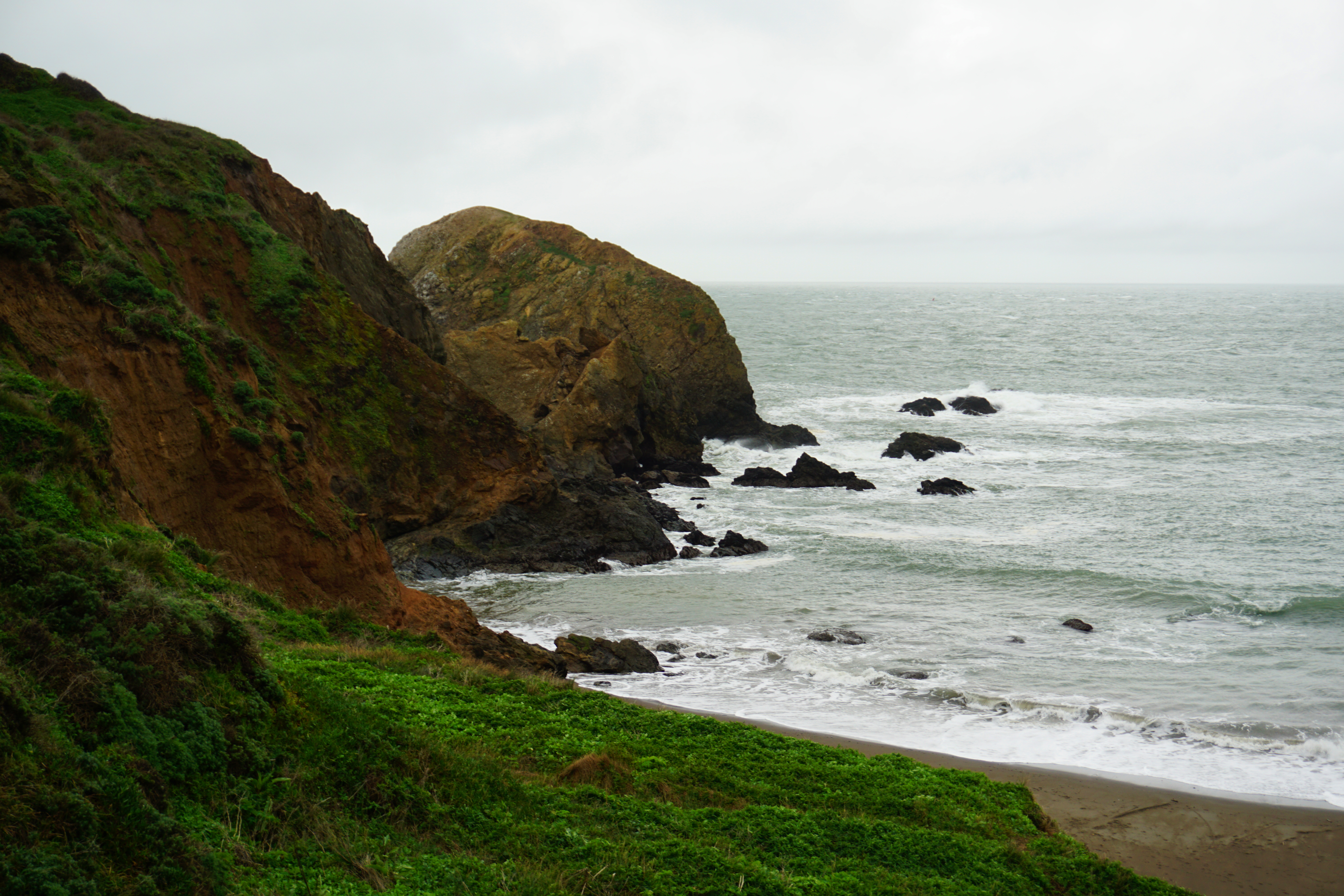 South Rodeo Beach in the Golden Gate National Recreation Area