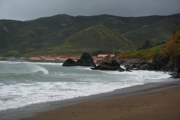 Rodeo Beach in the Golden Gate National Recreation Area
