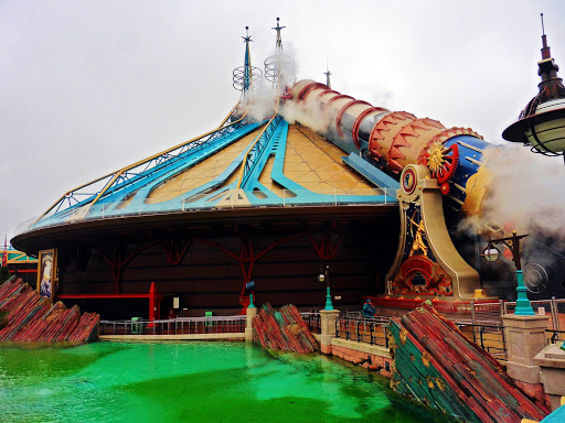 Space Mountain 2.0 at Disneyland Paris