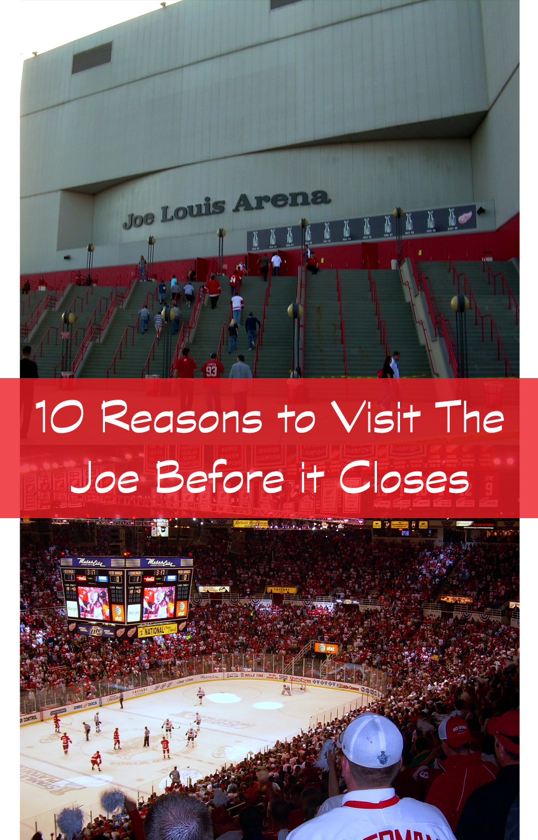 Joe Louis Arena in Detroit, MI