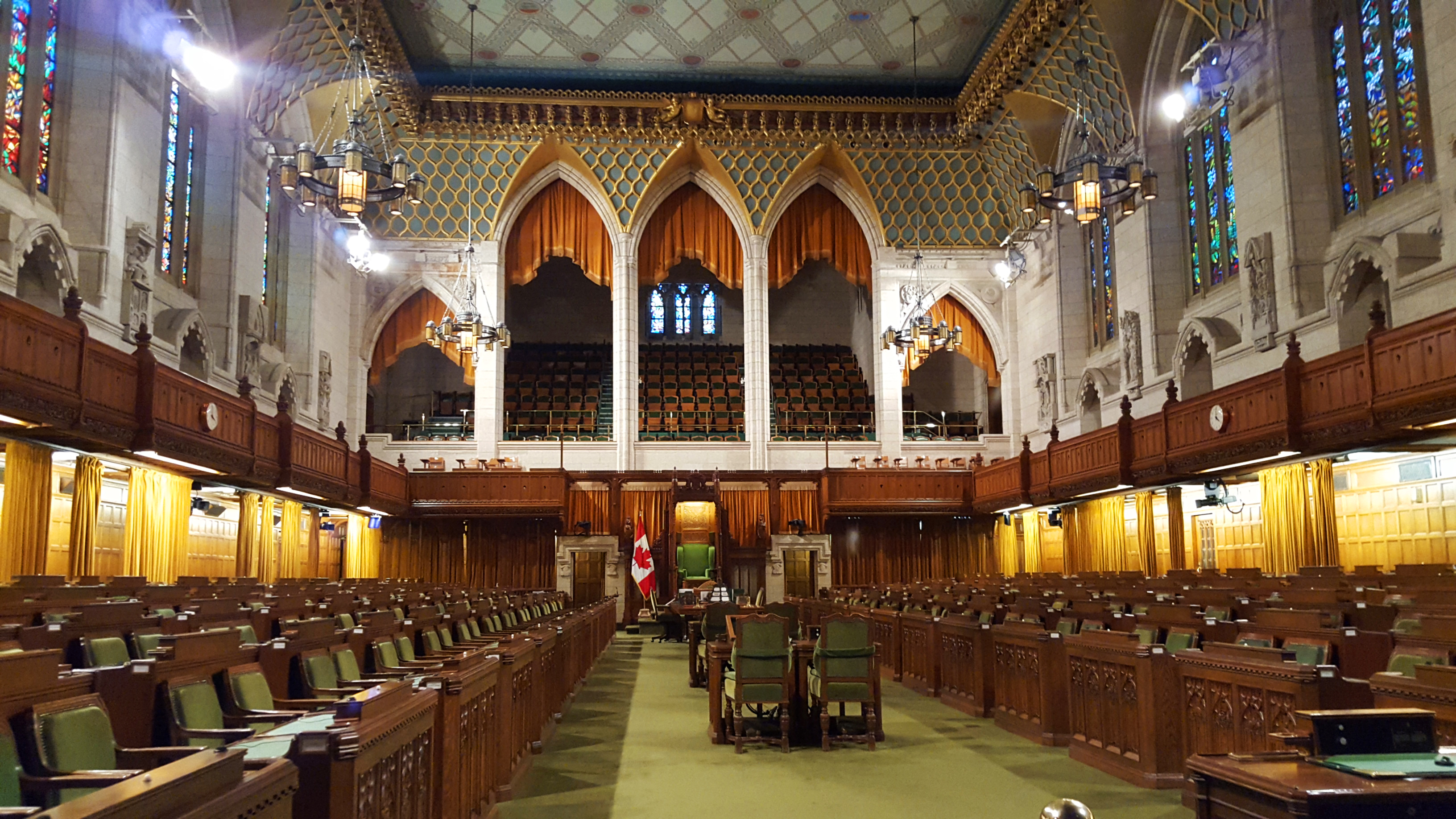 House of Commons in Ottawa, Canada