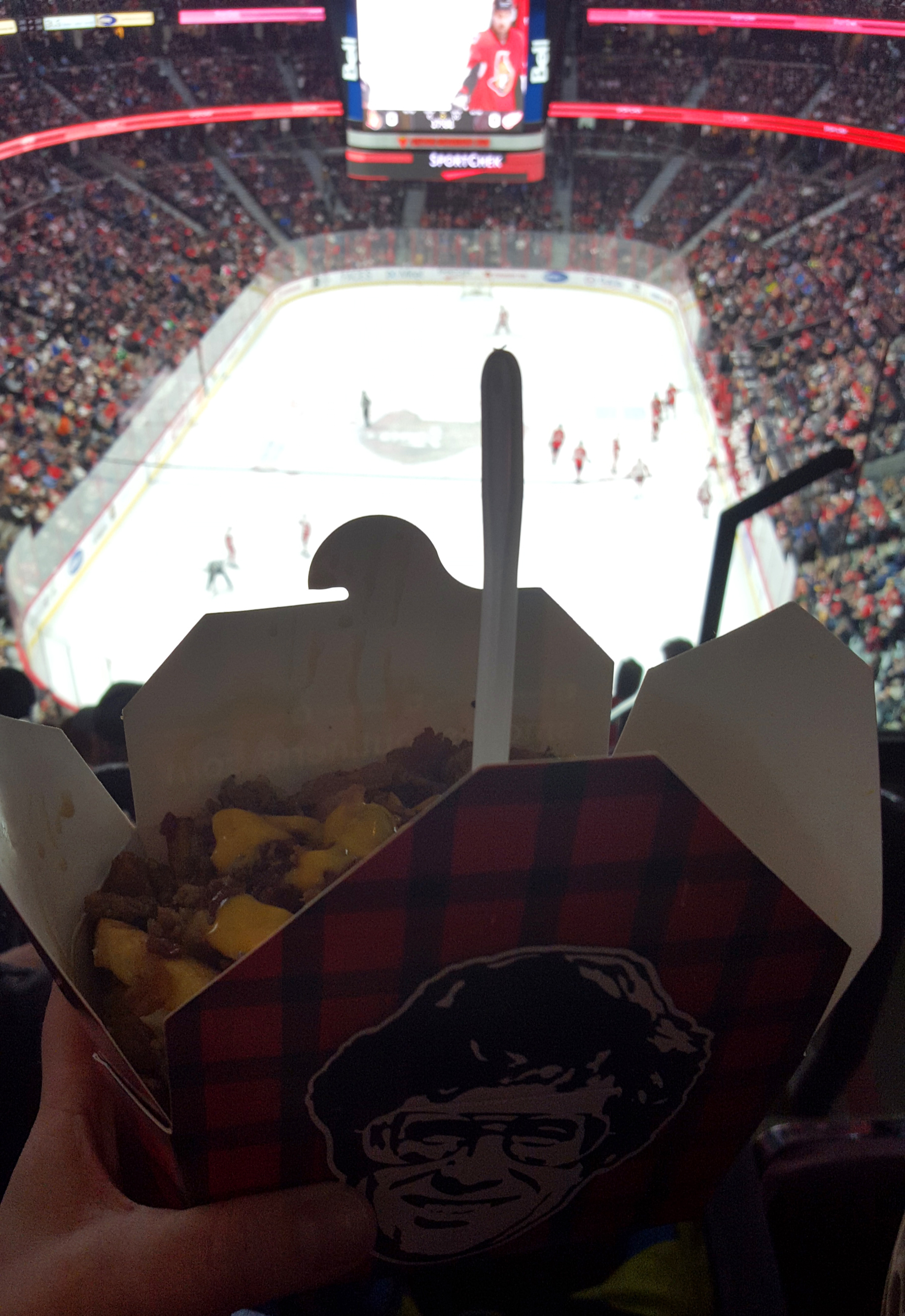 Bacon cheeseburger poutine from Smoke's Poutinerie - How to spend a winter weekend in Ottawa