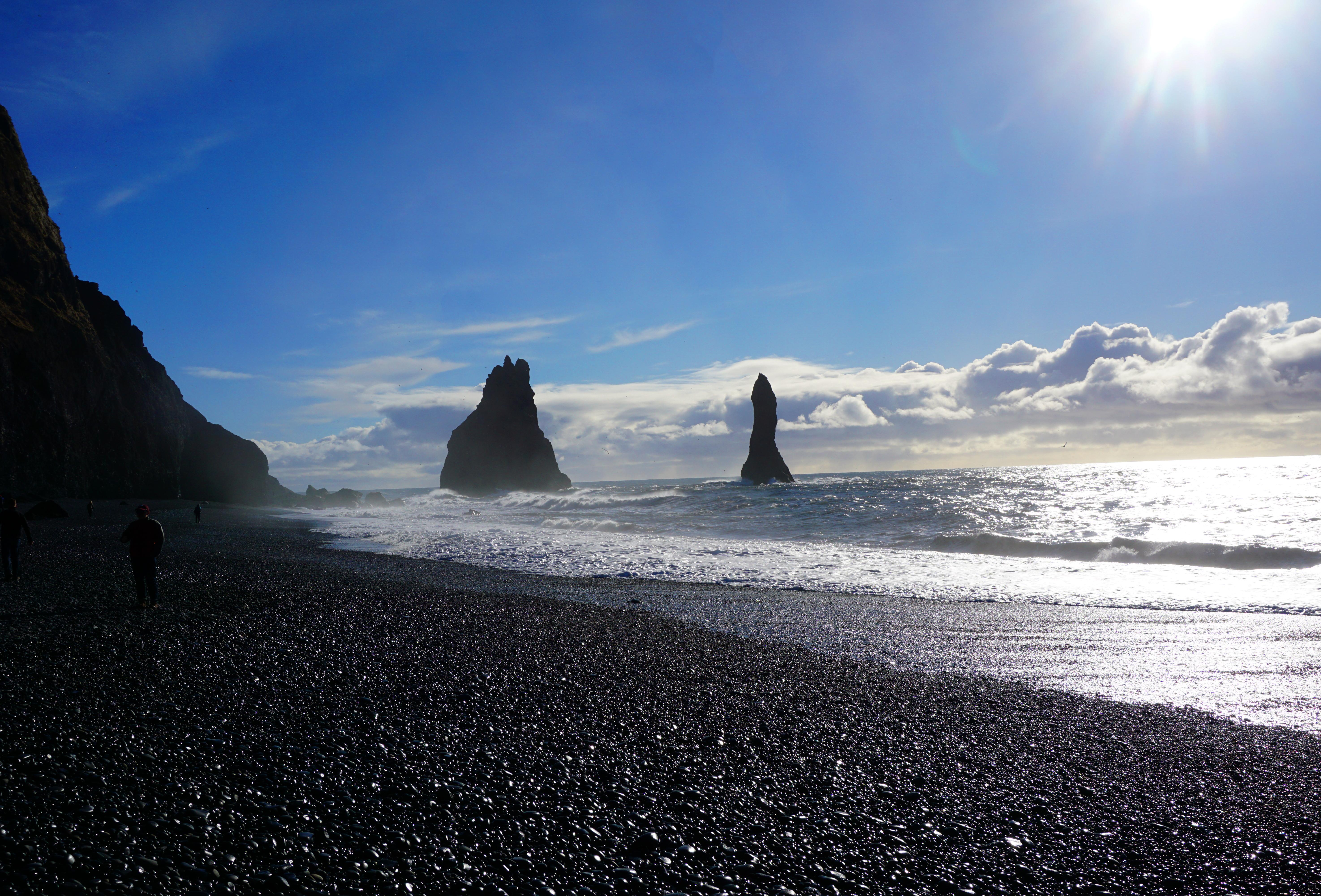 Reynisfjara beach in southern Iceland