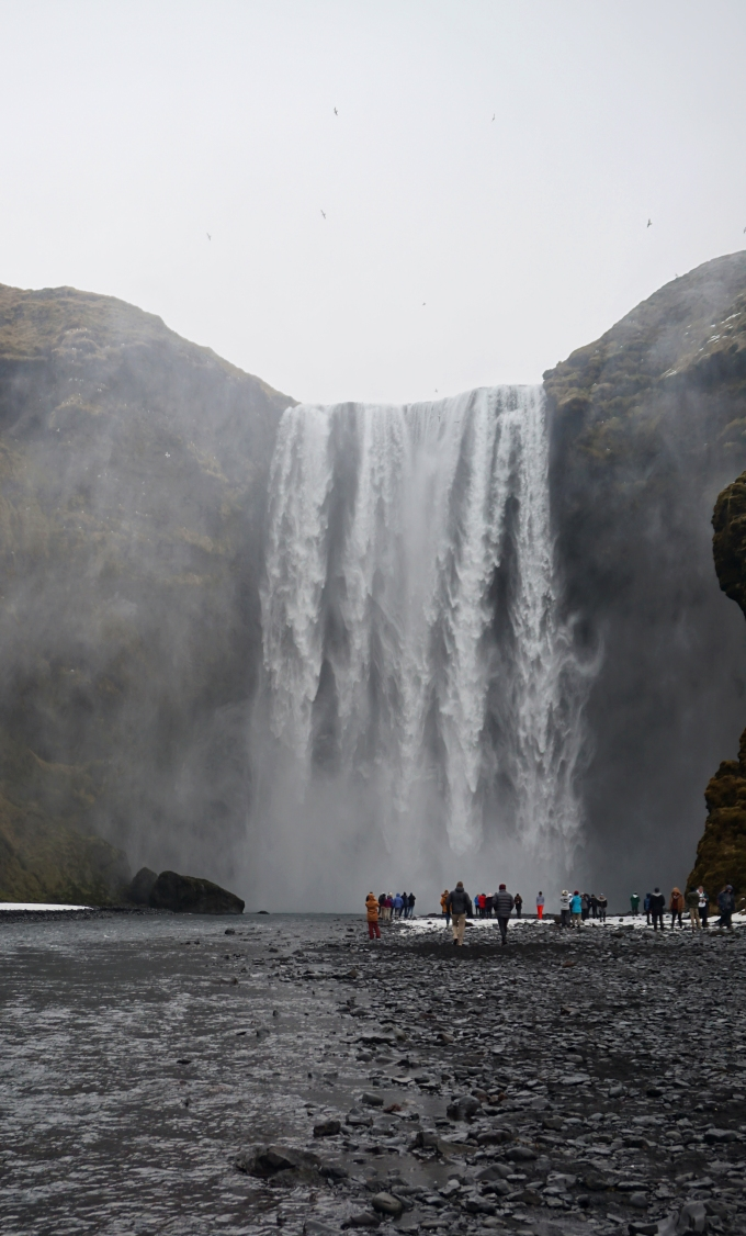 Skógafoss in southern Iceland