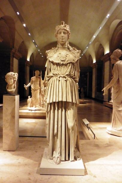 Greek statue in the Louvre