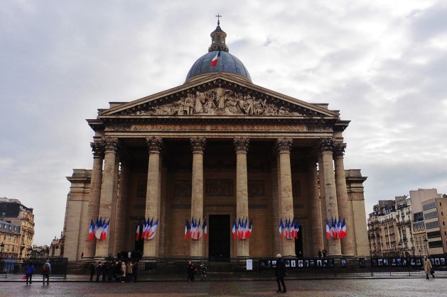 The Pantheon in Paris, France