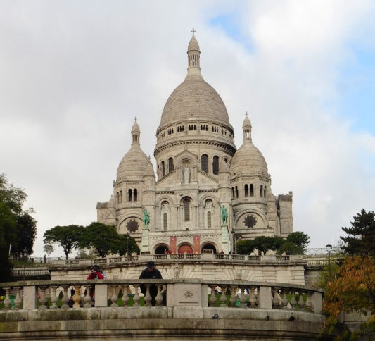 Sacre Coeur in Paris, France