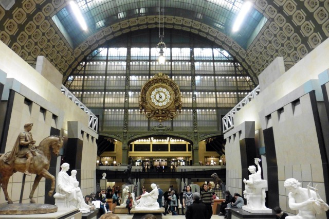 Musee d'Orsay gallery in Paris France