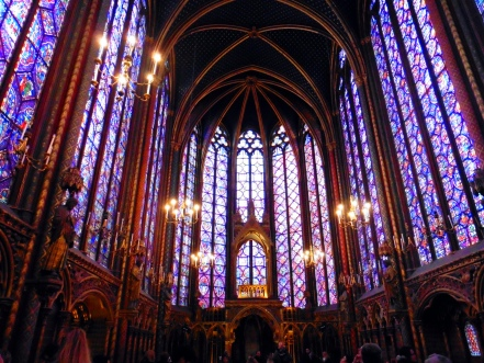 Upper level of Sainte Chappelle - Is the Paris Museum Pass worth it?