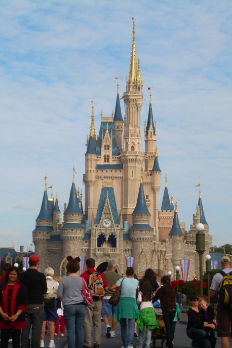 Cinderella Castle in the Magic Kingdom in Walt Disney World, Florida