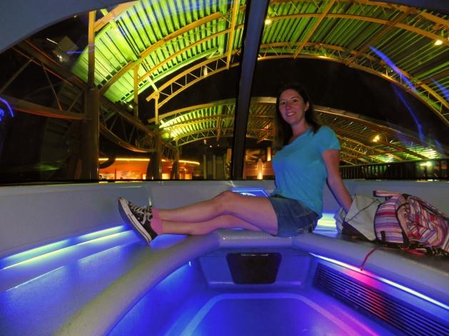 Monorail at Disneyland in Anaheim, California