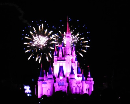 Wishes fireworks show at the Magic Kingdom in Walt Disney World - Orlando, Florida