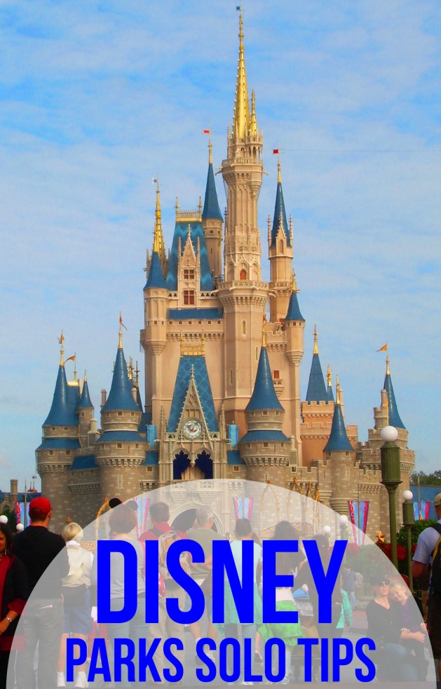 Tips and tricks for making the most of a solo trip to Disney parks