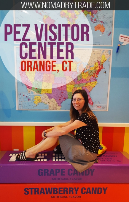 The Pez Visitor Center in Orange, Connecticut offers fun for families and adults.