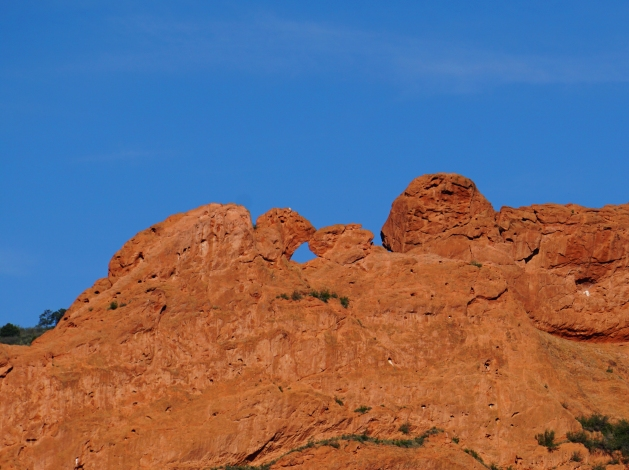 Kissing Camels formation in Garden of the Gods Colorado Springs