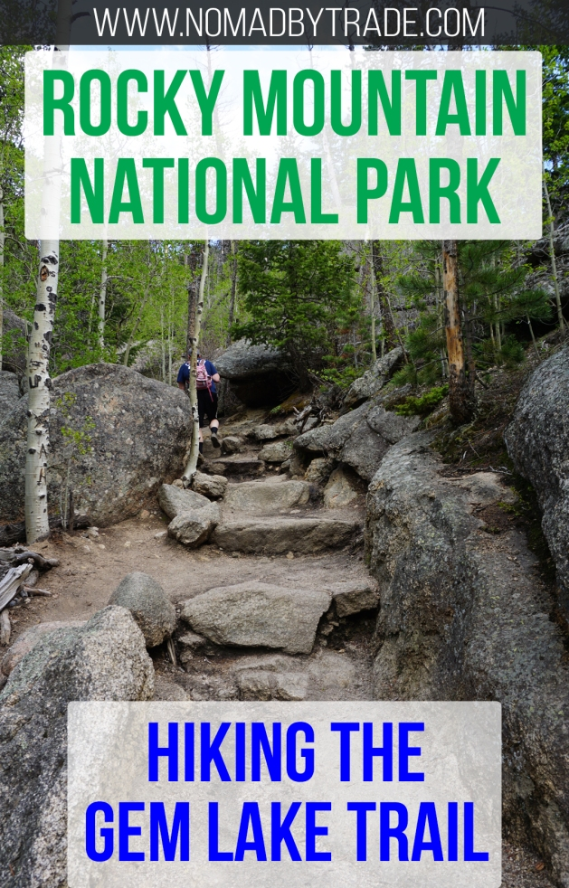 Looking for a challenging hike in Rocky Mountain National Park? The Gem Lake trail may be just right. Located in Colorado, USA