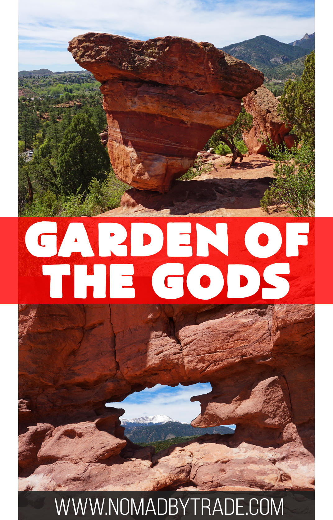 Garden of the Gods is a stunning natural playground full of red rock formations. Here's everything you need to know for a visit to this free park in Colorado Springs, Colorado, USA.