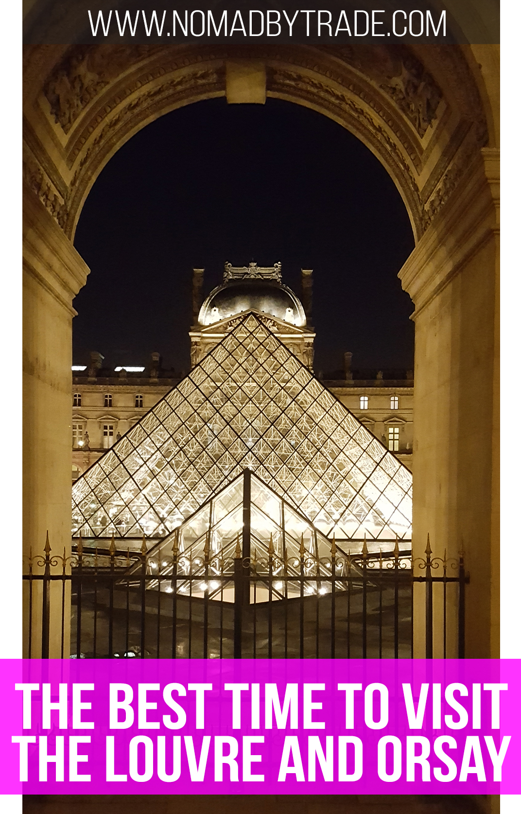 The best time to visit the Louvre and Musee d'Orsay in Paris, France isn't what you think.